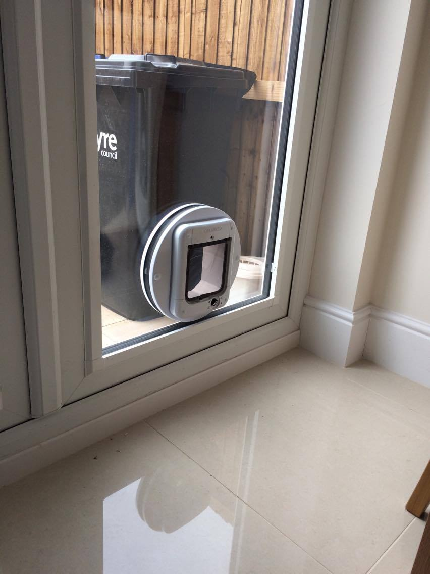 Gallery window repair solutions for Upvc french doors with cat flap